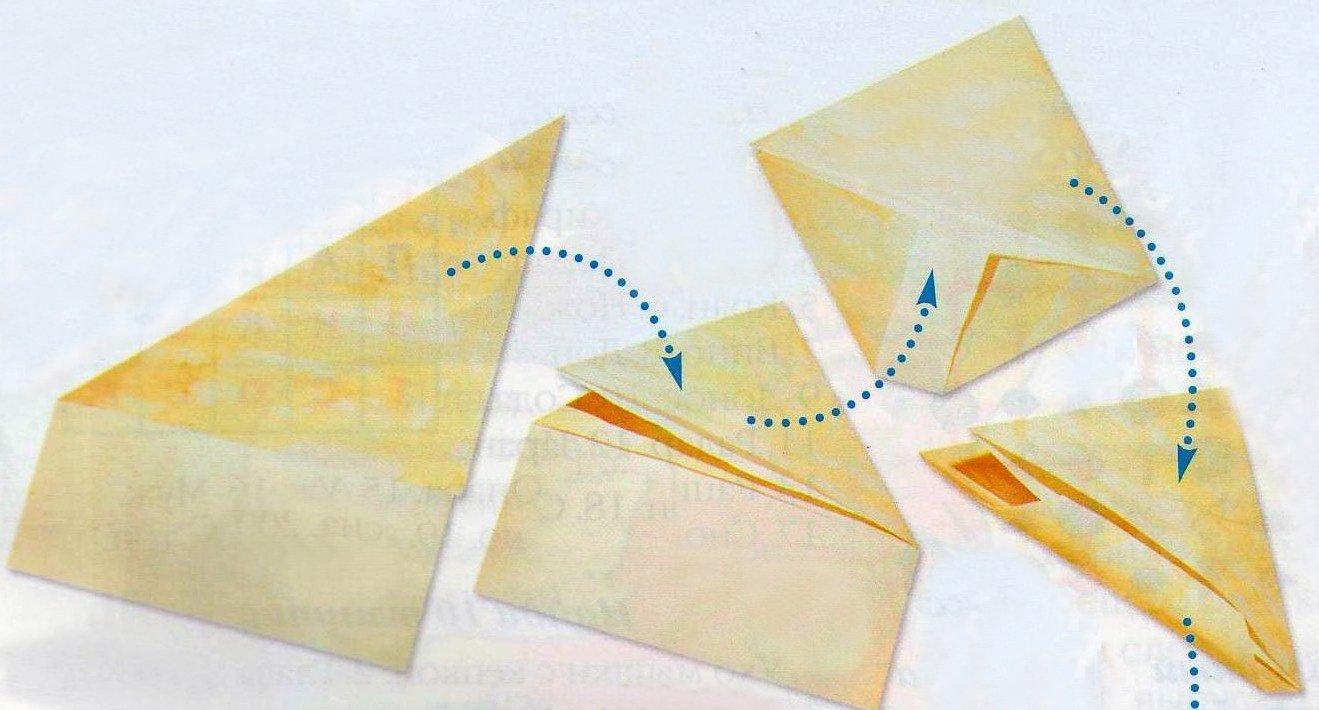 Как сделать треугольник открытку, как