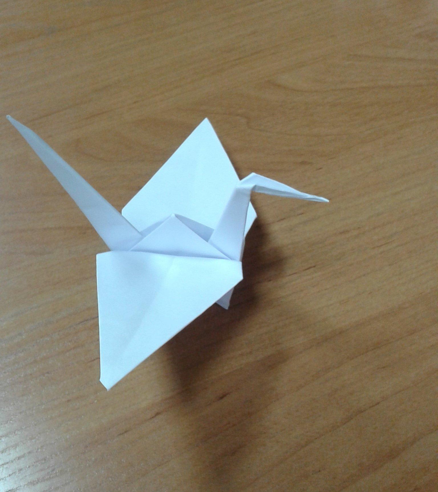 оригами пошаговое фото своими руками журавлик отреагировала мгновенно