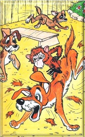 весело, картинки к рассказу про обезьянку так меня любила